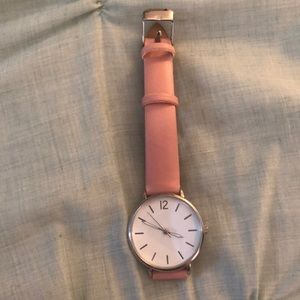 Pink watch! WORN ONCE